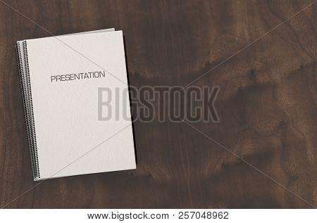 Bound Presentation Booklet Pile
