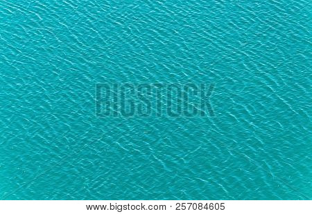 Intense Blue Water Of A Lake For Backgrounds.