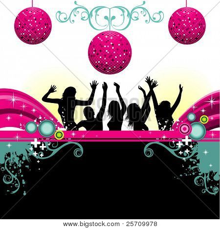 party vector design