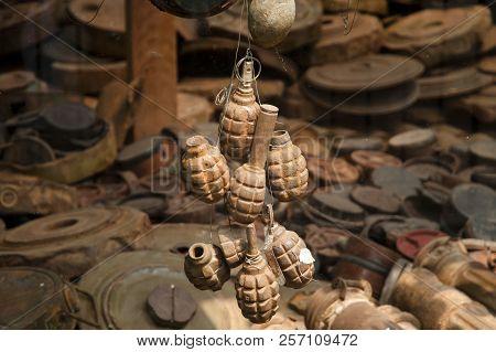 Rusty Grenades - Siem Reap - Cambodia