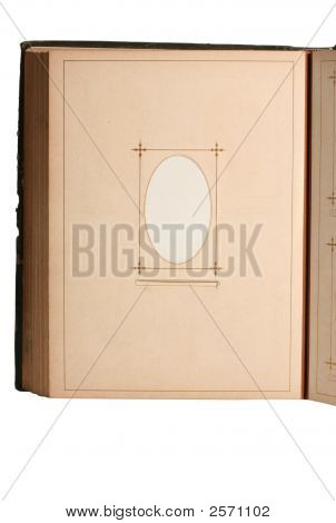 Old Photo Album, Blank Page