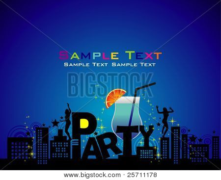 Party vector illustration