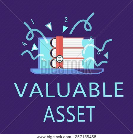 Writing Note Showing Valuable Asset. Business Photo Showcasing Your Most Valuable Asset Is Your Abil