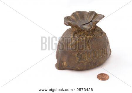 Old Piggy Bank Or Money-Box