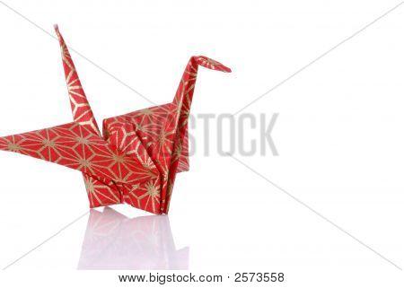 Japanese Origami Peace Crane