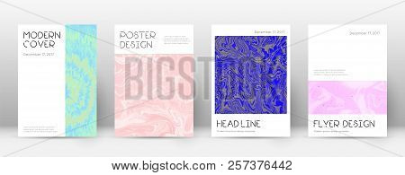 Abstract Cover. Uncommon Design Template. Suminagashi Marble Minimal Poster. Uncommon Trendy Abstrac