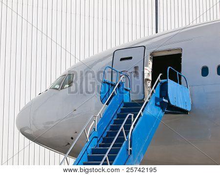 Big Passenger Airplane