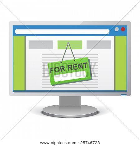 Web advertise icon