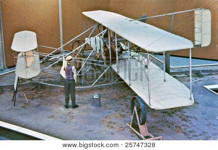 Usa Wright Brothers Vintage Postcard - Circa 1900