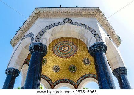 German Fountain In Sultanahmet
