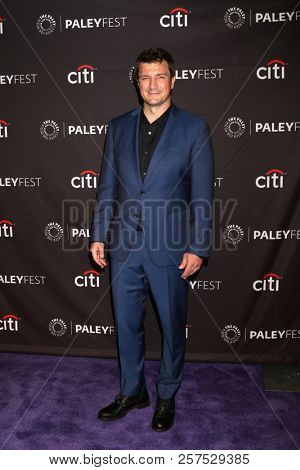 LOS ANGELES - SEP 7:  Nathan Fillion at the 2018 PaleyFest Fall TV Previews - ABC at the Paley Center for Media on September 7, 2018 in Beverly Hills, CA