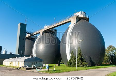 Sludge Digestion Tanks