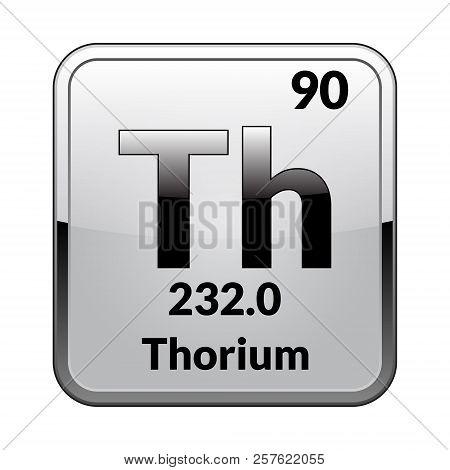 Thorium Symbol Vector Photo Free Trial Bigstock