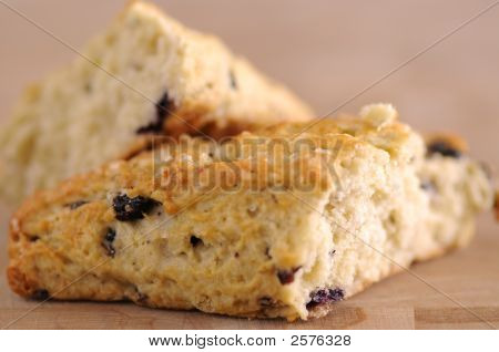 Blueberry Scone Halves