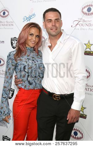 LOS ANGELES - SEP 7:  Brooke Mueller, Boyfriend at the Brent Shapiro Foundation Summer Spectacular at the Beverly Hilton Hotel on September 7, 2018 in Beverly Hills, CA