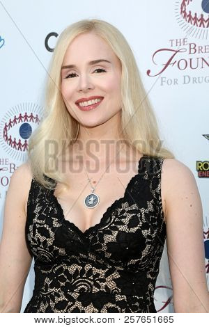 LOS ANGELES - SEP 7:  Ariane Sommer at the Brent Shapiro Foundation Summer Spectacular at the Beverly Hilton Hotel on September 7, 2018 in Beverly Hills, CA