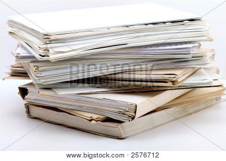Stapel von Dokumenten