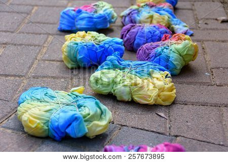 Home-made Tie-dye T-shirts