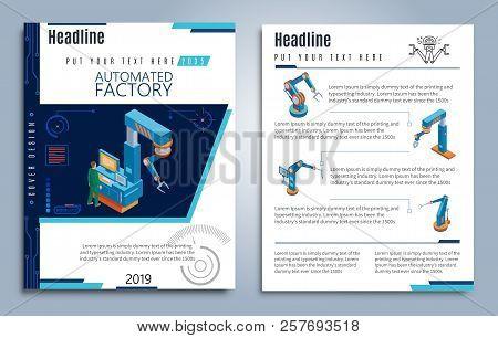 Robotics Brochure Images Illustrations Vectors Free Bigstock