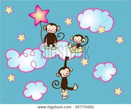 Monkeys in Heaven graphic