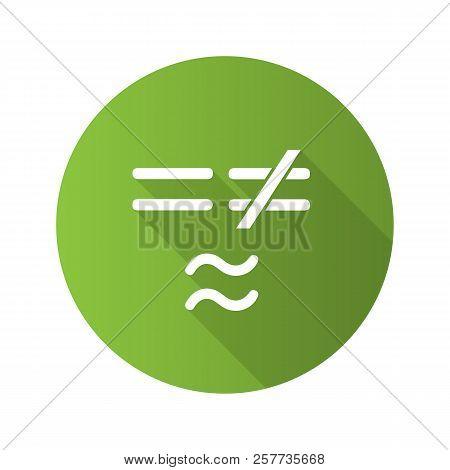 Math Symbols Flat Vector Photo Free Trial Bigstock