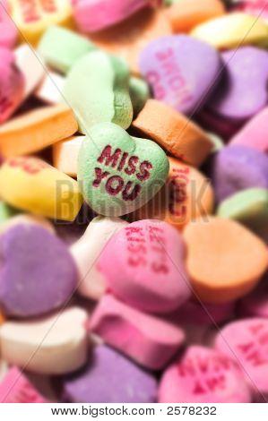Valentine Heart Candy