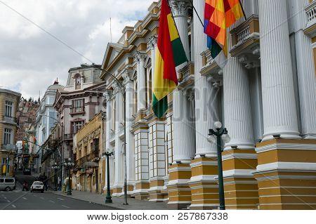 National Congress Building - La Paz - Bolivia