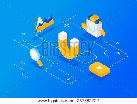 Attracting Online Customers. Digital Inbound Marketing,  Inbound Marketing.