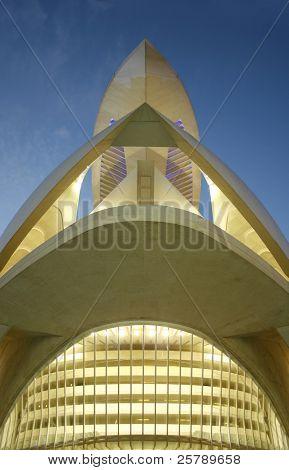 architecture in valencia, santiago calatrava