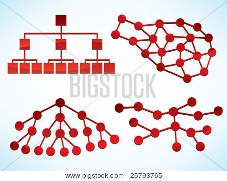 different shiny business network diagrams