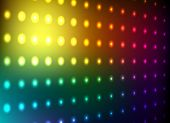 Colorful club light wall vector background. poster