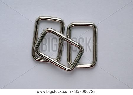 Steel Frame Nickel-plated Accessories For Bags. Detachable Iron Wire Frame. Accessories For The Manu