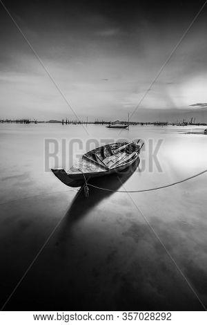 Blackwhite Panorama Photos At Batam Bintan Island Indonesia