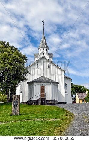 Skare Church In The Norwegian Town Of Haugesund