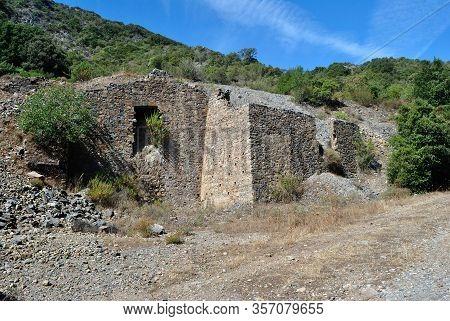 View Of The Abandoned Mine Sa Duchessa De Mesu