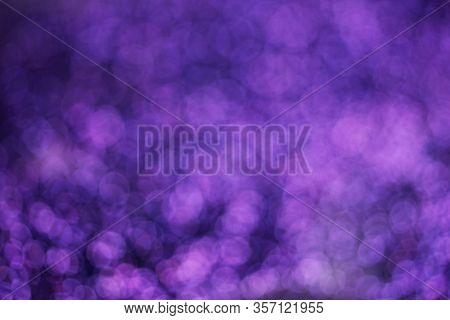 Light Abstract Purple Bokeh Light Blurred Background