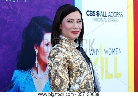 LOS ANGELES - AUG 7:  Lucy Liu at the