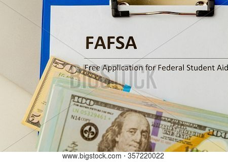 Fafsa. Student Aid. Money On The Table.