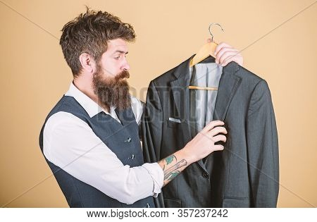 Tailoring And Clothes Design. Perfect Fit. Custom Made To Measure. Tailored Suit Concept. Designing