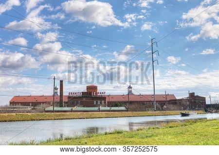 Augusta, Georgia/united States- January 7: The Enterprise Mill In Augusta, Georgia. A Flour Mill Tha