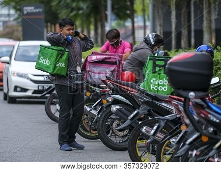 Food Delivery Service Rider For Foodpanda And Grabfood