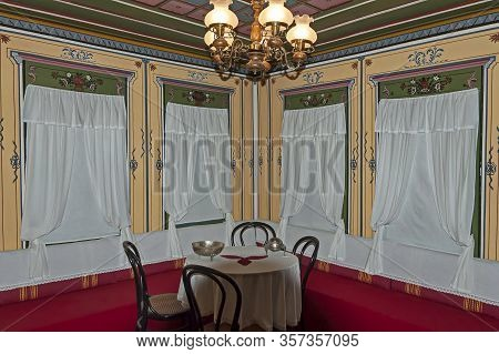 Panagyurishte, Bulgaria - September 07, 2011: Cozy Corner In An Old Traditional Bulgarian House With