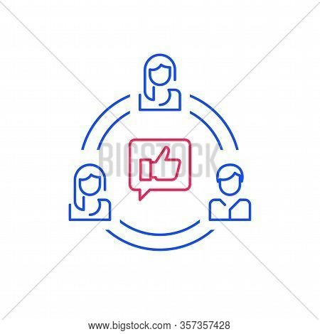 Social Media Influence, Refer A Friend Program, Target Group, Public Relations Or Human Resources, V