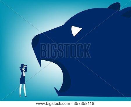 Looking Bear Market Presents Downtrend Stock Market