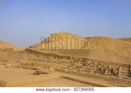 Deir El-medina (valley Of The Workers), An Ancient Egyptian Village Home To Artisans Who Worked On T