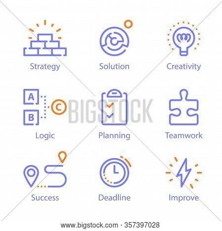 Education And Training, Problem Solving, Creative Thinking, Skills Improvement, Planning And Managem