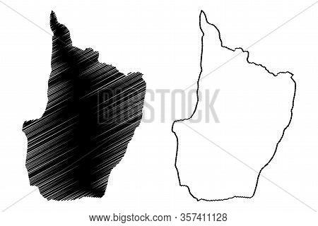 Upper Demerara-berbice Region (administrative Regions Of Guyana, Co-operative Republic Of Guyana) Ma