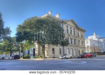 Columbia, South Carolina/united States- January 7: City Hall In Columbia, South Carolina On [january