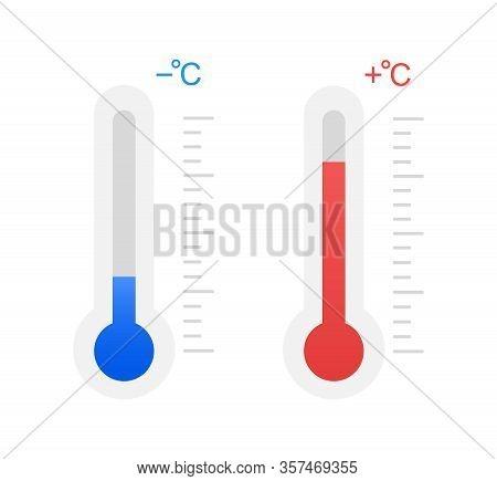 Cold And Heat, Subzero Temperature And Above Zero.