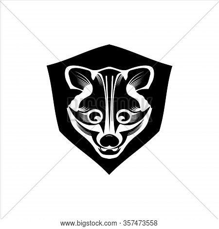 Mongoose Protective Logo, Sports Logo. Technology Protection. Vector Icon. Eps Illustration 10.